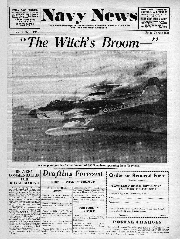Squadron Prints Firefly AS.6 Scottish Air Division RNAS Abbotsinch Print 200