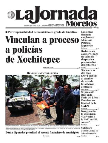 La Jornada Morelos Mayo 4 By Gerardo Barreto Issuu