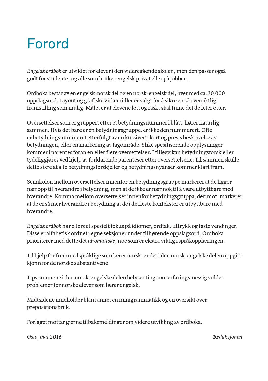 betydning av ordtak Engelsk ordbok (utdrag) by Cappelen Damm   issuu betydning av ordtak