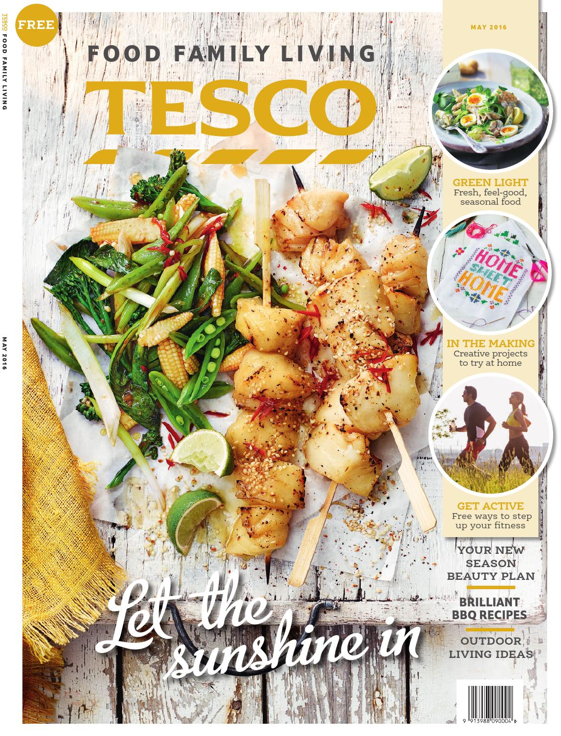Tesco Magazine May 2016 By Tesco Magazine Issuu