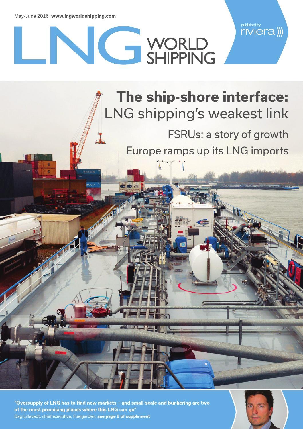 Lng World Shipping May June16 By Rivieramaritimemedia Issuu