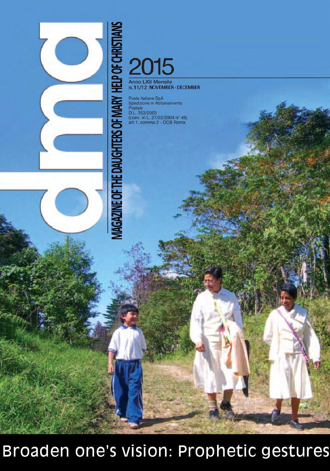 Dma Magazine Broaden One S Vision Prophetic Gestures