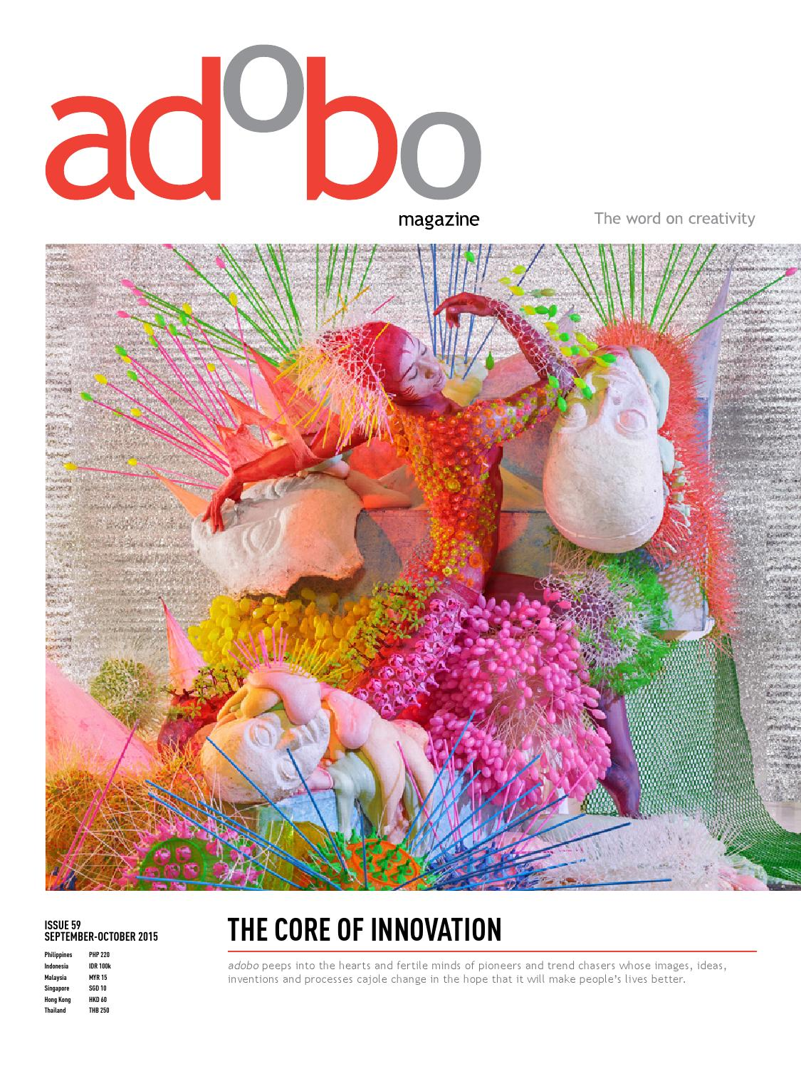 Is59 Adobo Magazine Innovation Issue By Sanserif Inc Issuu