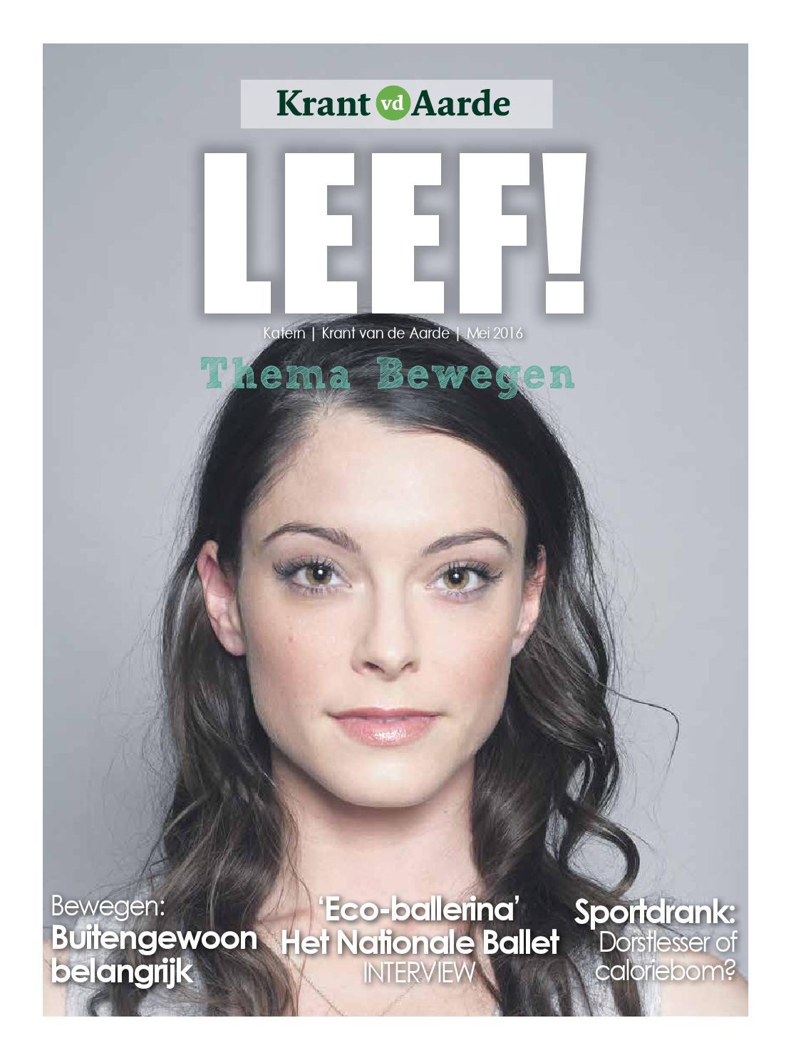 32b8273c80a55a Leef! lente editie 2016 by Krant van de Aarde - issuu