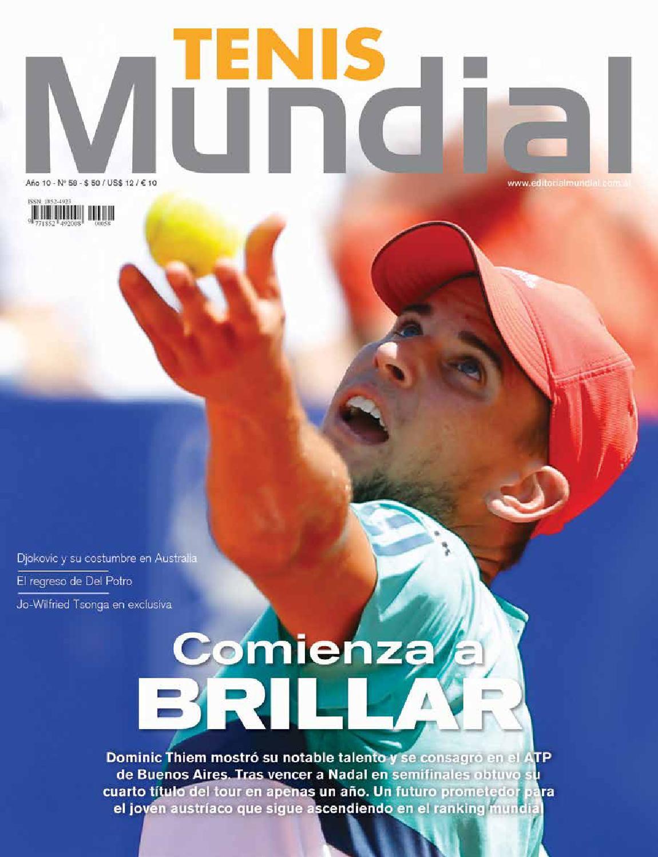 Tenis Mundial 58 by Editorial Mundial - issuu