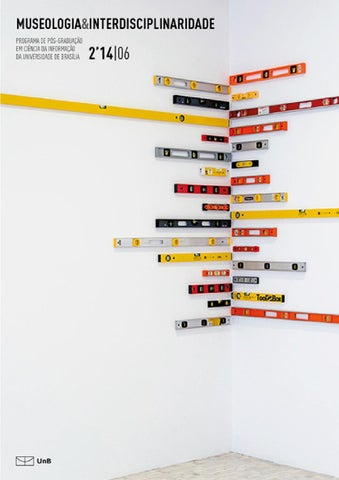 955eaa7414e2d REVISTA MUSEOLOGIA   INTERDISCIPLINARIDADE 6 by Núcleo de Editoração ...