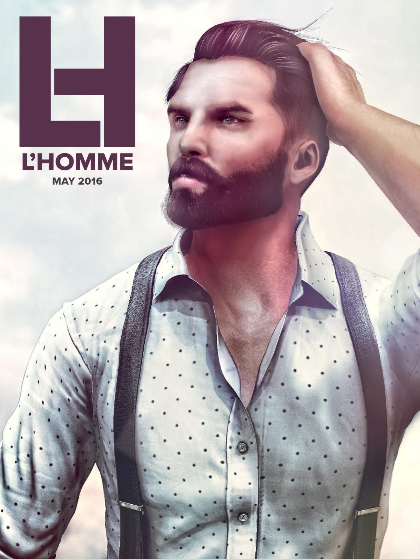 Male Fashion Blog Second Life