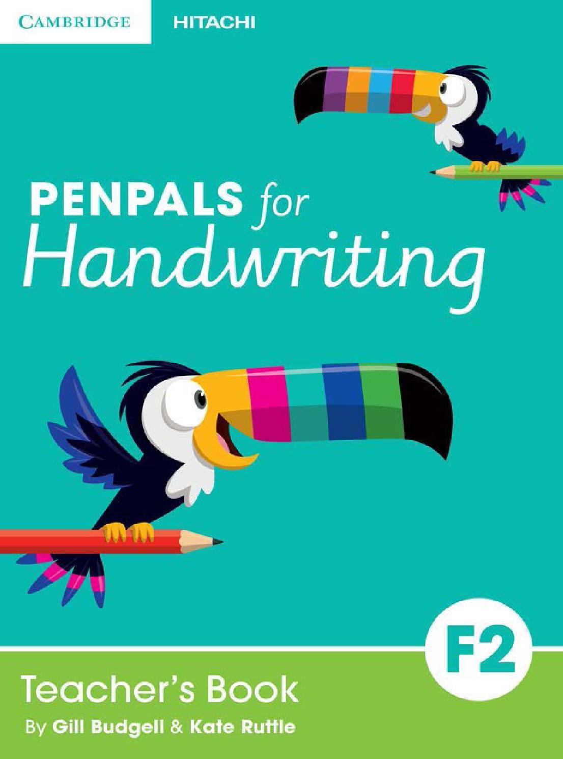 Penpals for Handwriting Teacher\'s Foundation Book 2 by Cambridge ...