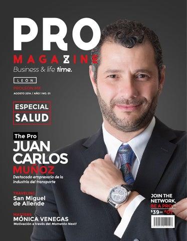 PRO Magazine León Edición 1 Agosto 2014 by PRO Magazine León - issuu 1946ec1482a2c