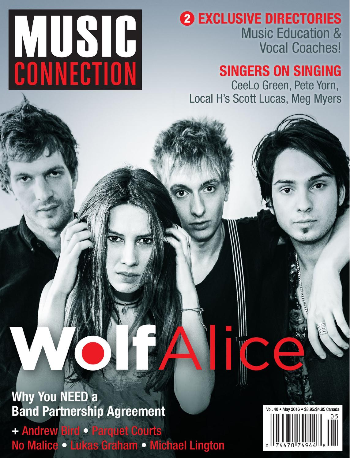 Music connection may 2016 by music connection issuu fandeluxe Images