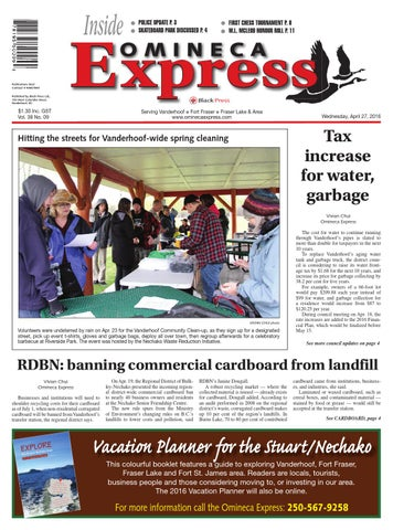 Vanderhoof Omineca Express, April 27, 2016 by Black Press Media