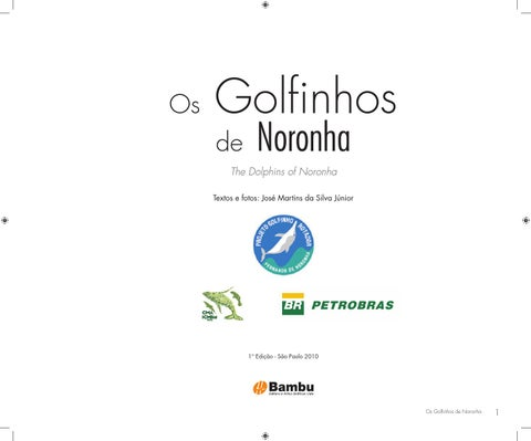 Os golfinhos de noronha the dolphins of noronha by projeto page 1 fandeluxe Choice Image