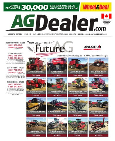 Wheel Amp Deal Alberta May 9 2016 By Farm Business