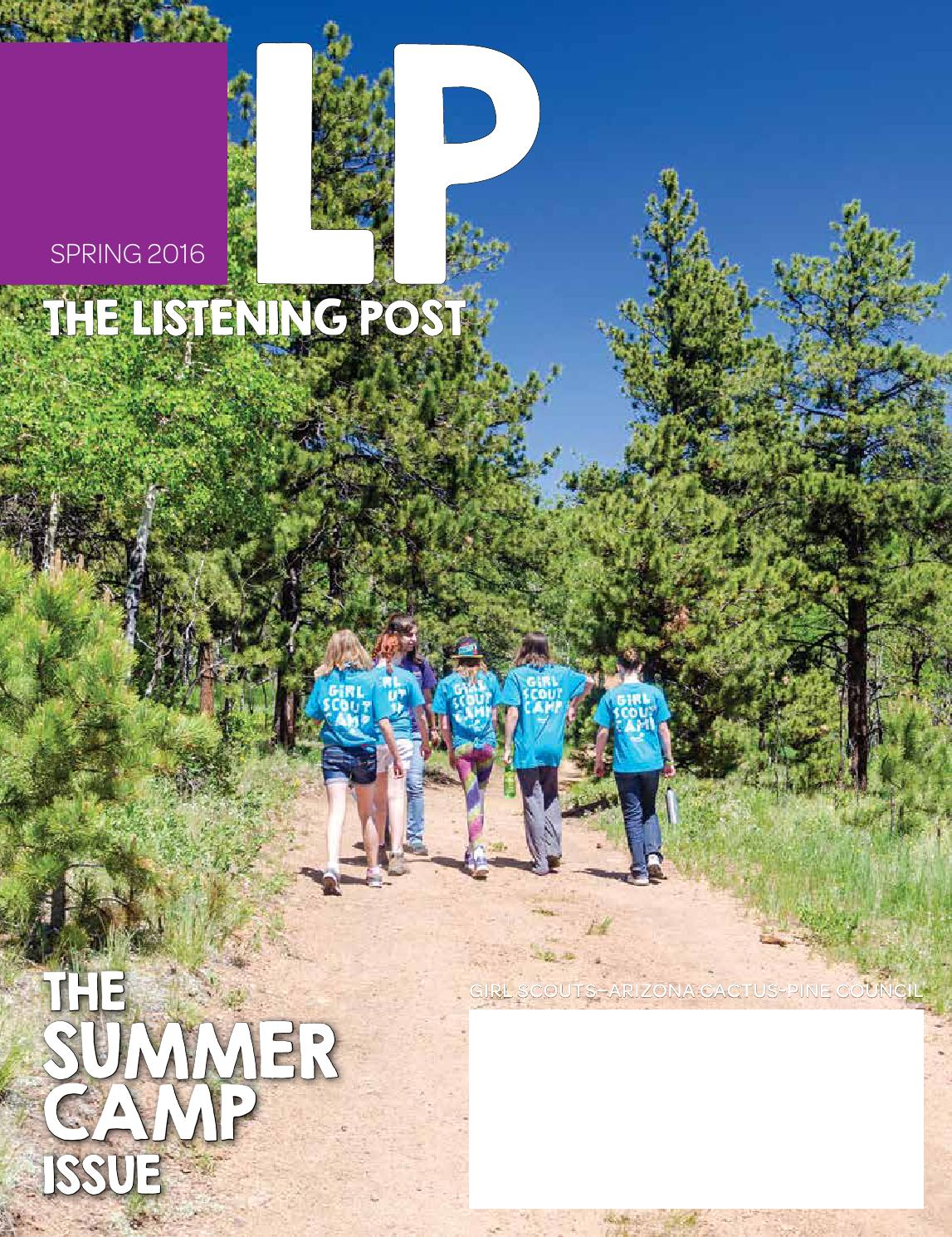 listening post spring 2016 by girl scouts arizona cactus