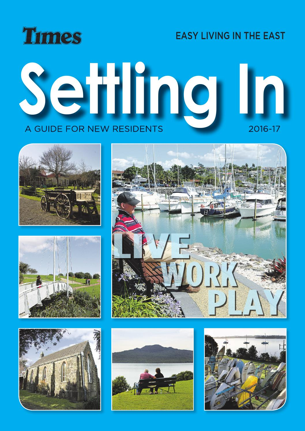 Settling In East 2016-17 by Times Media - issuu