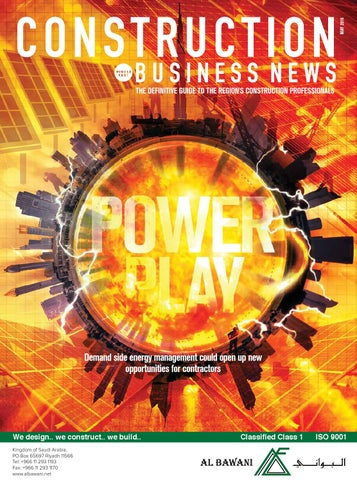 Construction Business News ME April 2016
