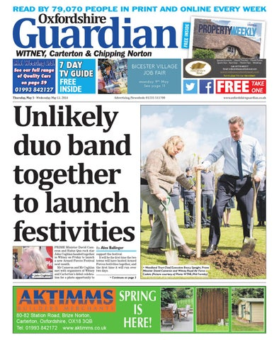 442bbe70 5 may 2016 oxfordshire guardian witney by Taylor Newspapers - issuu
