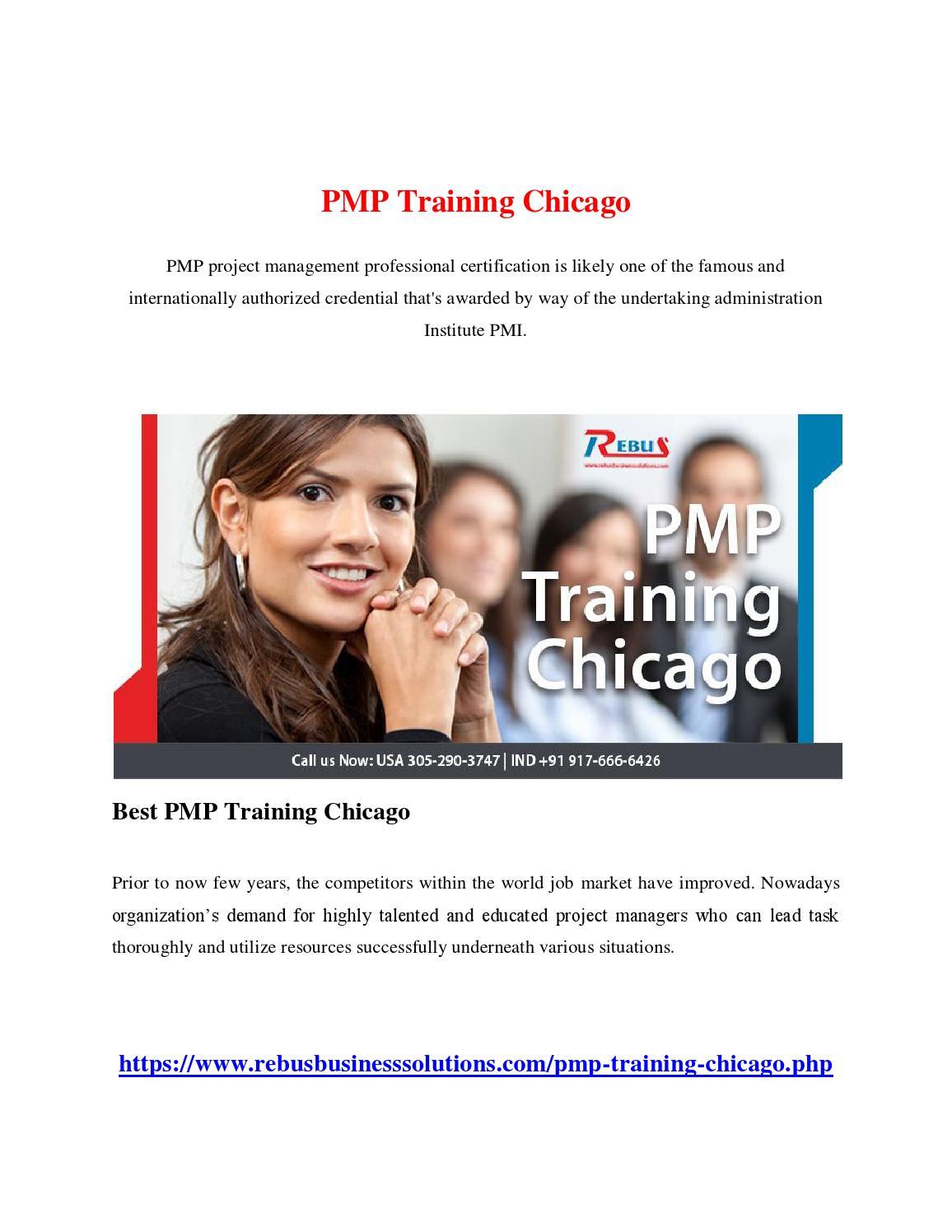 Pmp training chicago by keerthisuresh issuu 1betcityfo Choice Image