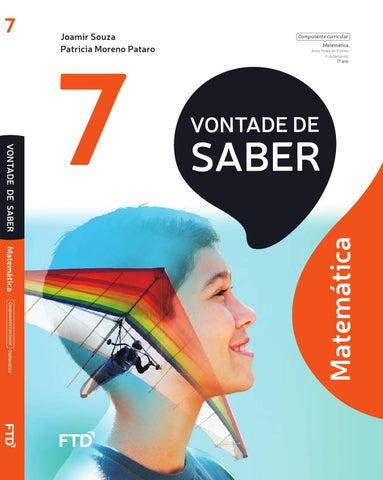 Vontade Saber Mat 7 By Editora Ftd Issuu