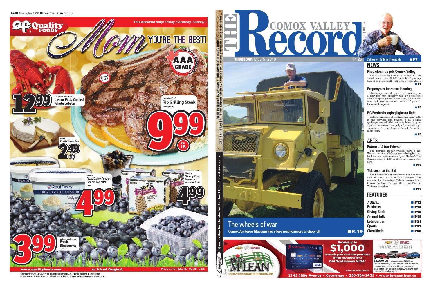 Comox valley record may black press issuu