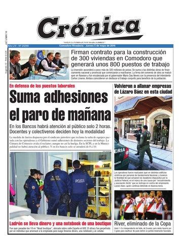 4318a844350f9fea4c1866ff88e7253e by Diario Crónica - issuu 7ba70df66af