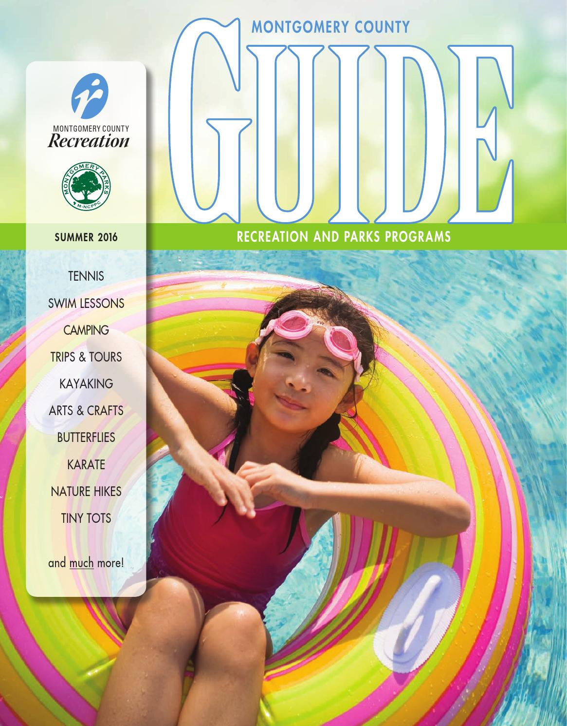 Summer 2016 Guide by Montgomery County Recreation issuu