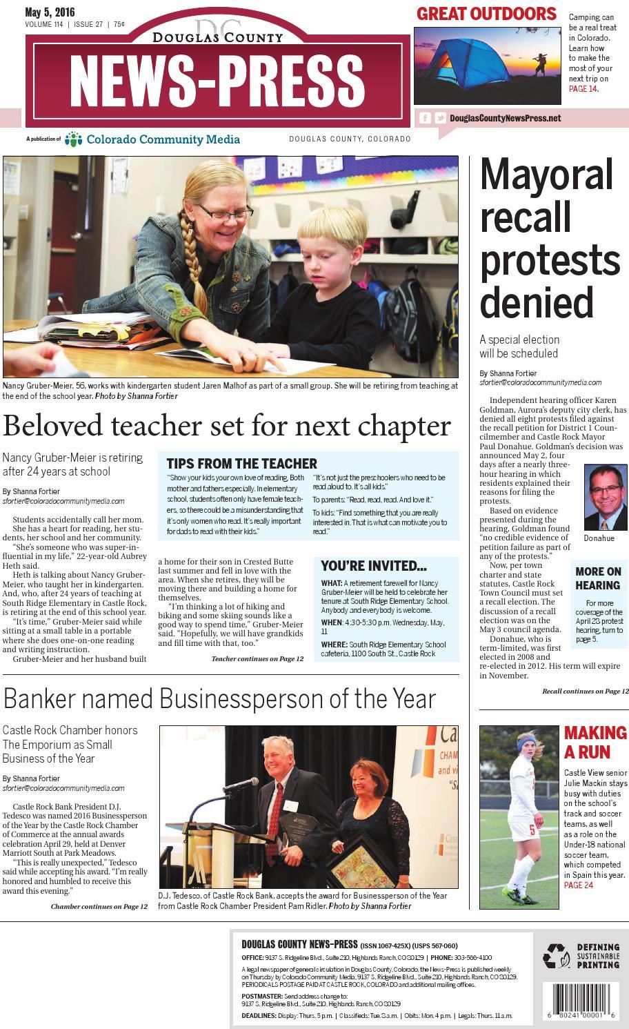 Douglas County News-Press 0505 by Colorado Community Media