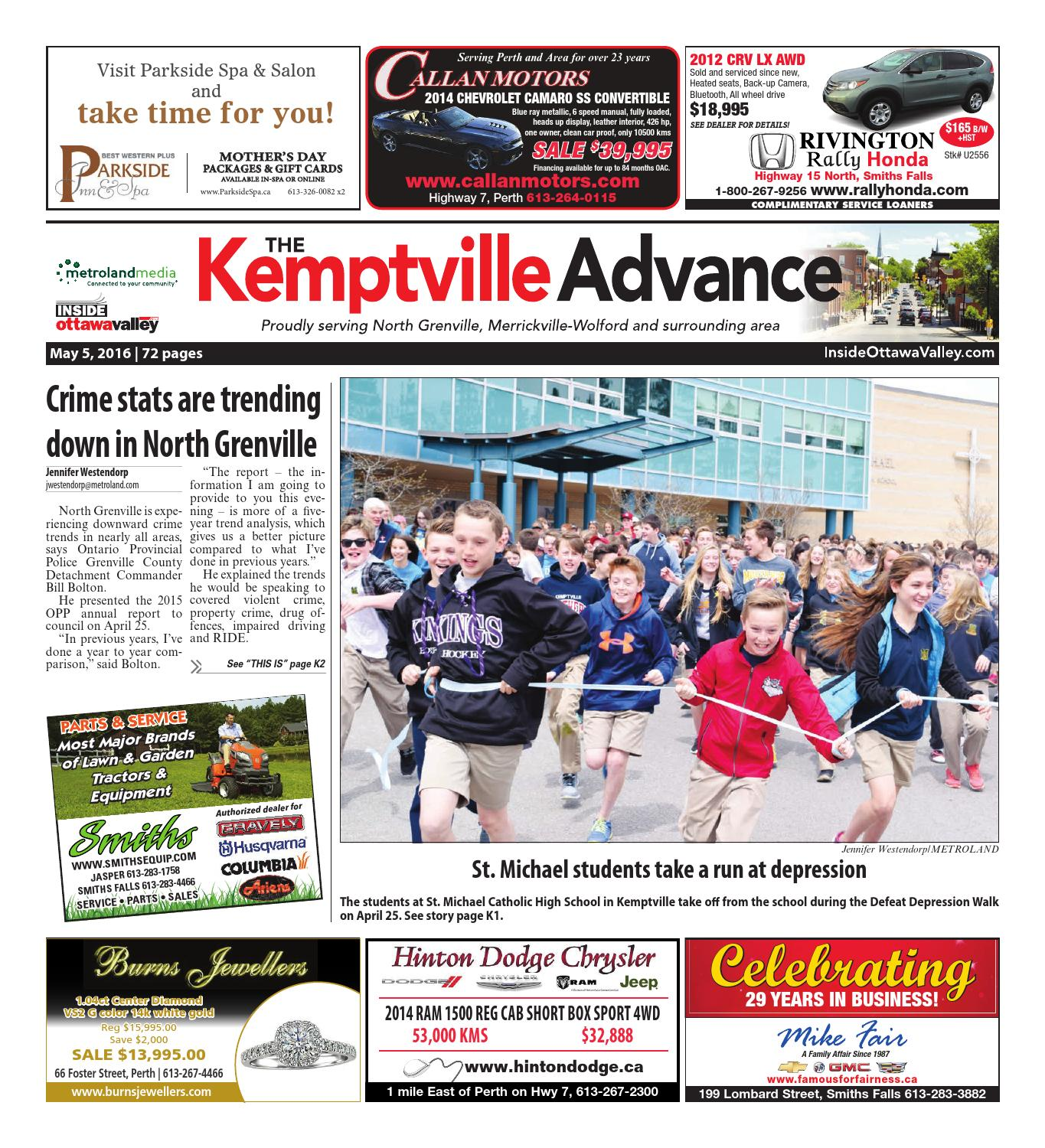 3f26d7ba2a Kemptville050516 by Metroland East - Kemptville Advance - issuu
