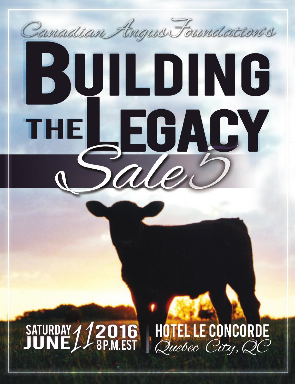 Building The Legacy Sale By Todays Publishing Inc