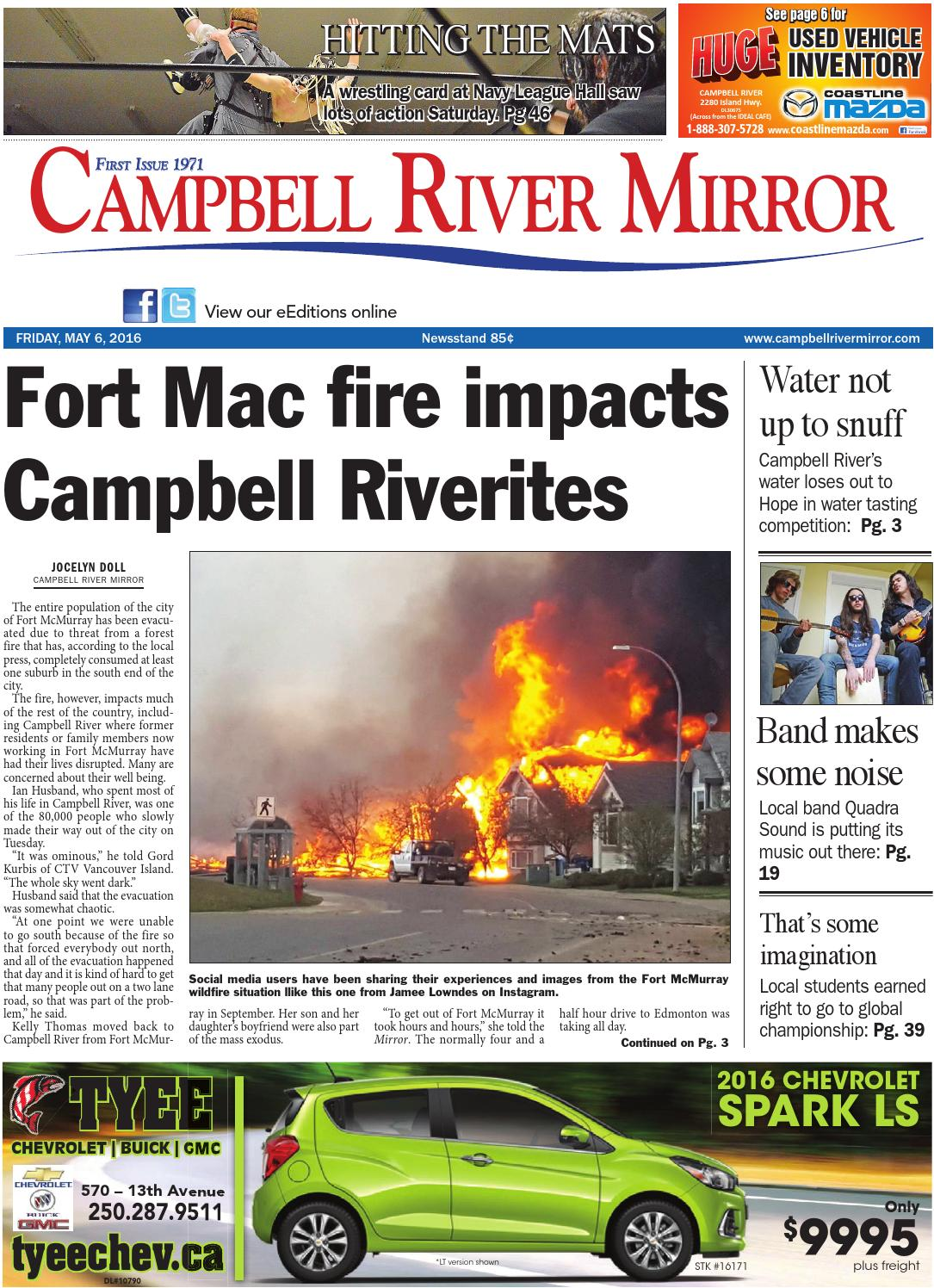 Campbell River Mirror May 06 2016 By Black Press Issuu 0654277 Carling 50 Amp Red Boat On Off Rocker Circuit Breaker