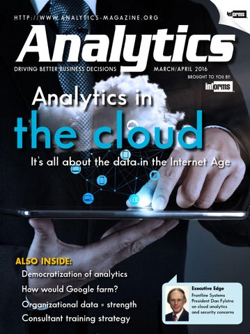 Analytics March/April 2016 by Lionheart Publishing Inc  - issuu