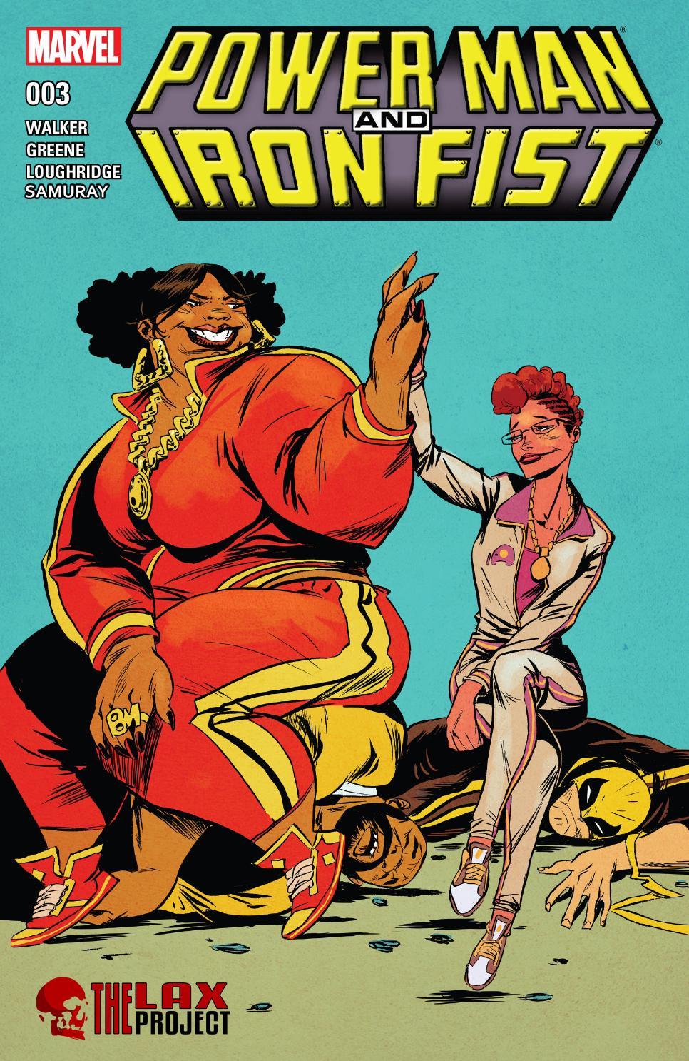 power man and iron fist comic - 647×1000