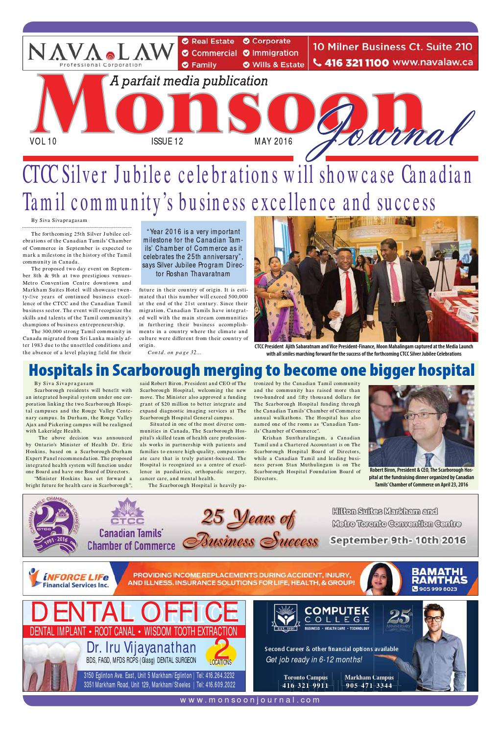 Mj May 2016 Web Edition By Monsoon Journal Issuu
