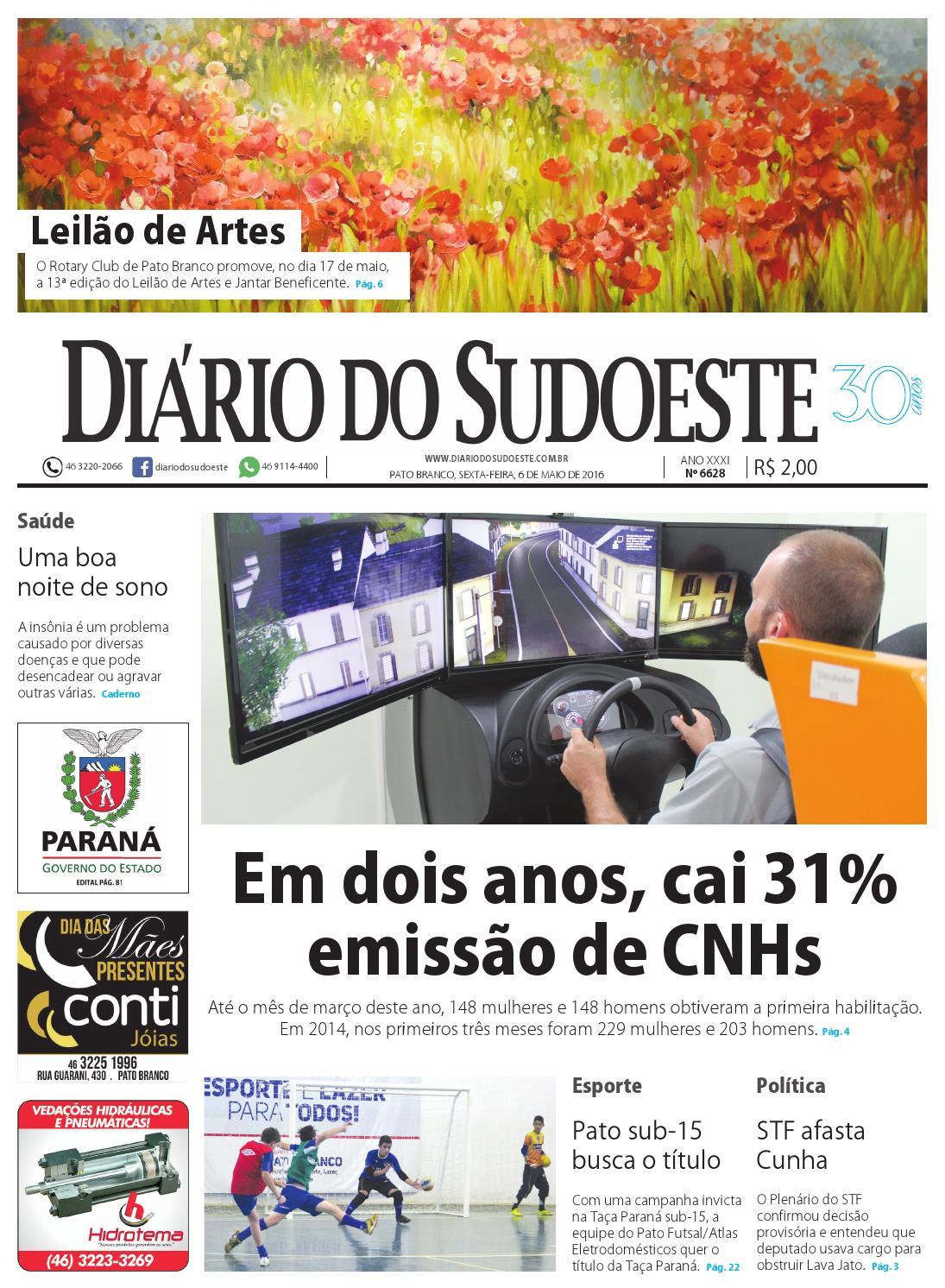 Diário do sudoeste 06 de maio de 2016 ed 6628 by Diário do Sudoeste - issuu f078e1983adad