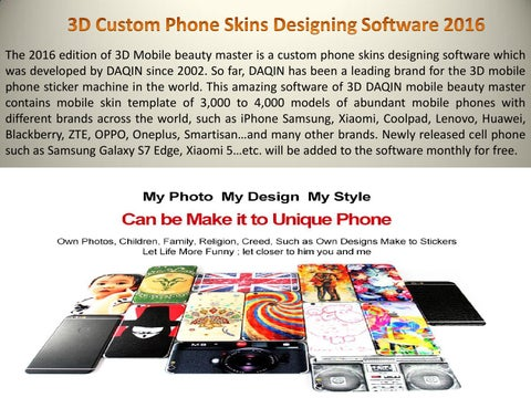 3d Custom Phone Skins Designing Software 2016 By Sam Luo Issuu