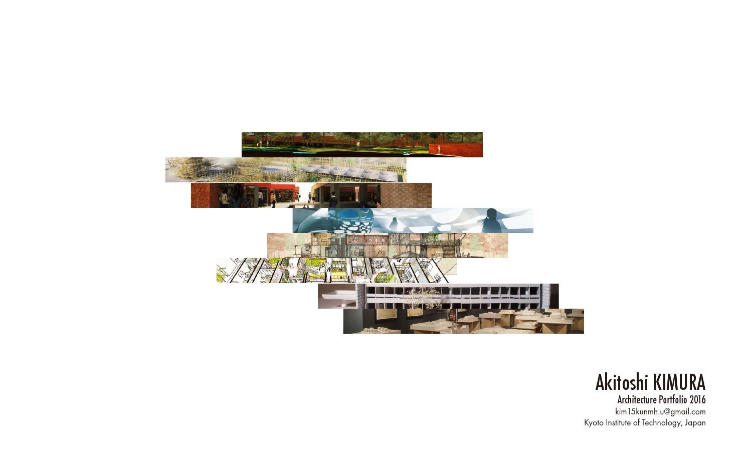 Book Cover Architecture Zip : Architecture portfolio by kimura akitoshi issuu
