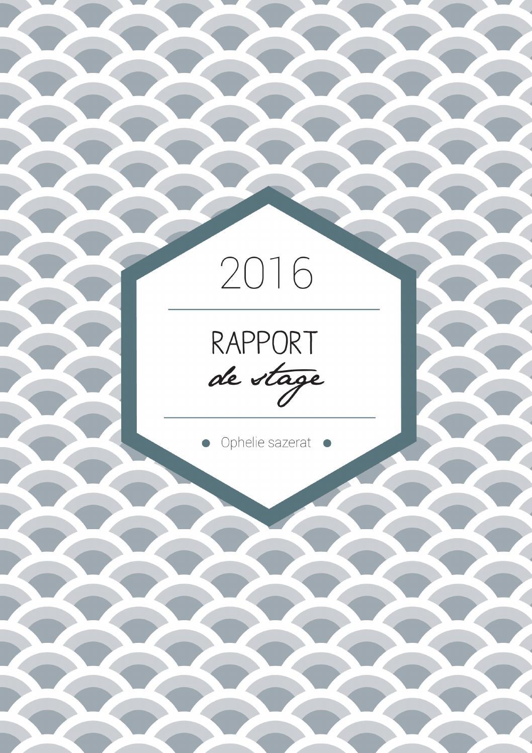 Bien-aimé Rapport de stage pfe design packaging by Malek El Béji - issuu WF63