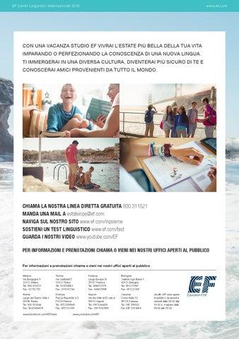 Con Una Vacanza Studio Ef Vivrai - Querciacb