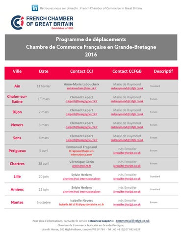 Programme jp 2016 06 05 2016 by french chamber of commerce for Chambre de commerce francaise en grande bretagne
