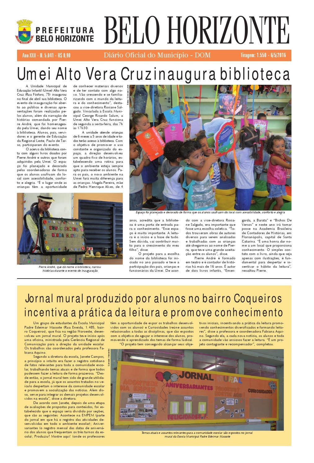 06/05/2016 by Prefeitura Belo Horizonte - issuu