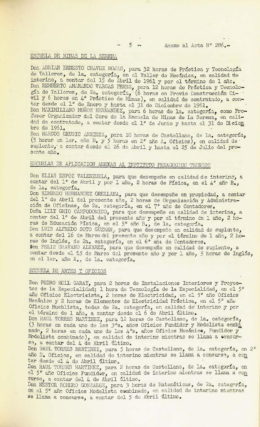 Actas Consejo Universitario 276 303 Parte 2 By Archivo  # Muebles Yoma Antofagasta