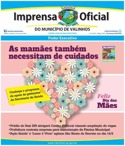 Imprensa Oficial do município de Valinhos - Edição 1504 by ... 55c1249bb5