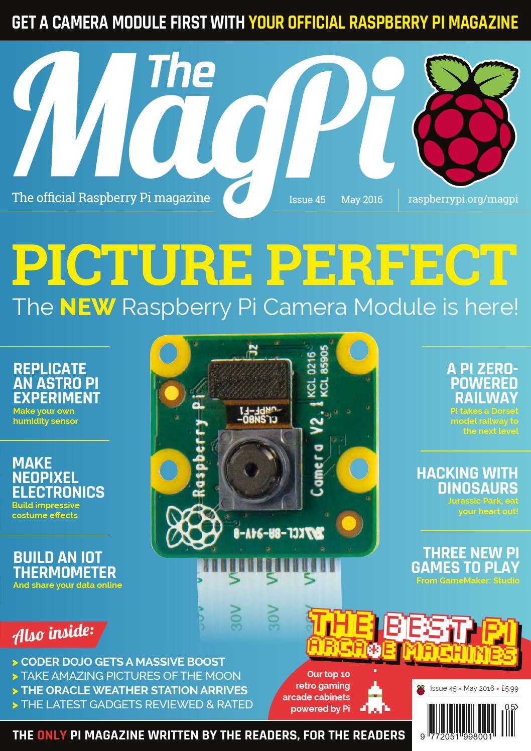 Magpi45 By Frans Kouwenhoven Issuu Wiringpi Install Ubuntu