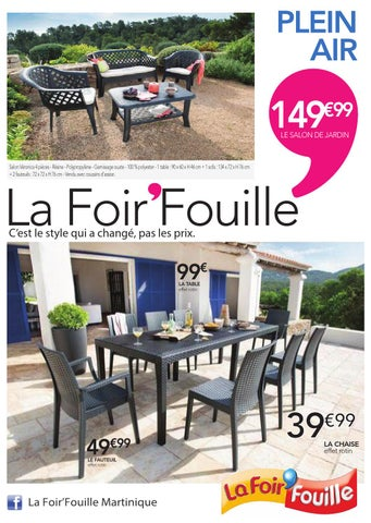 Catalogue Plein air by La Foir\'Fouille - issuu