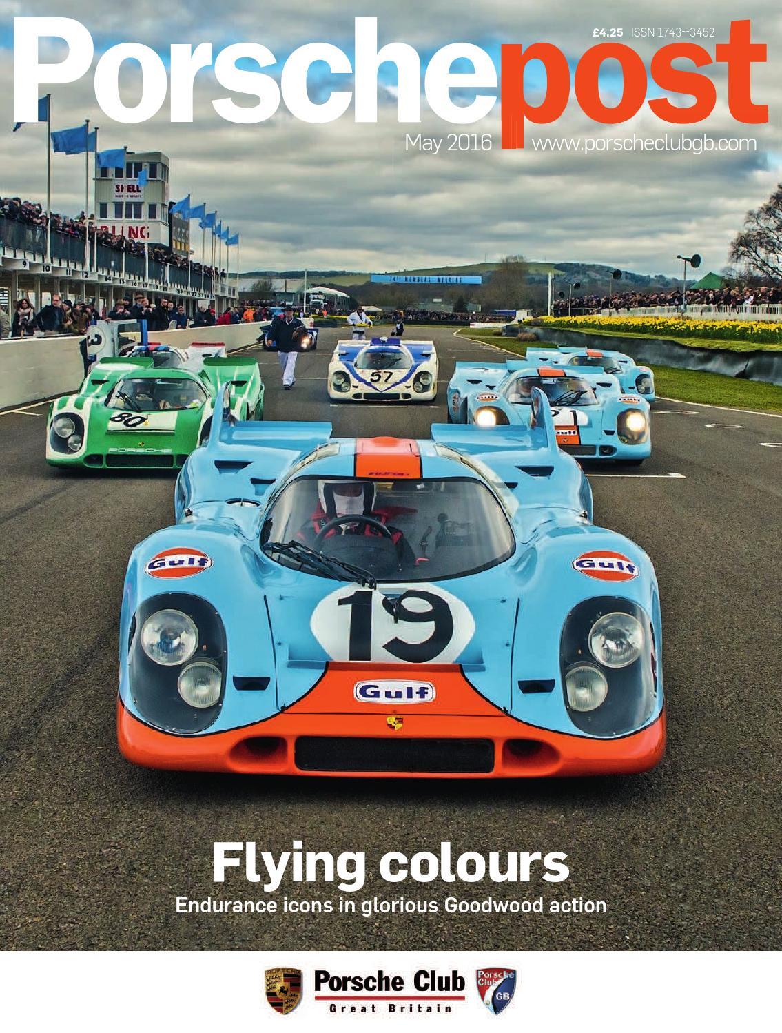 f362abaffc53 Porsche Post May 2016 by Porsche Club Great Britain - issuu