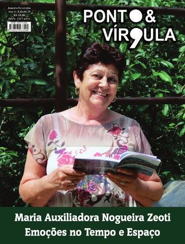 """Cover of """"Revista Ponto & Vírgula - Ano 4 - Edição 25 - Janeiro/Fevereiro 2016"""""""