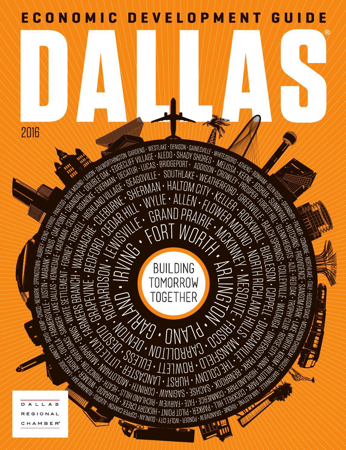 Dallas Economic Development Guide - 2016 by Dallas Regional Chamber  Publications - issuu 56d3b1a4ec