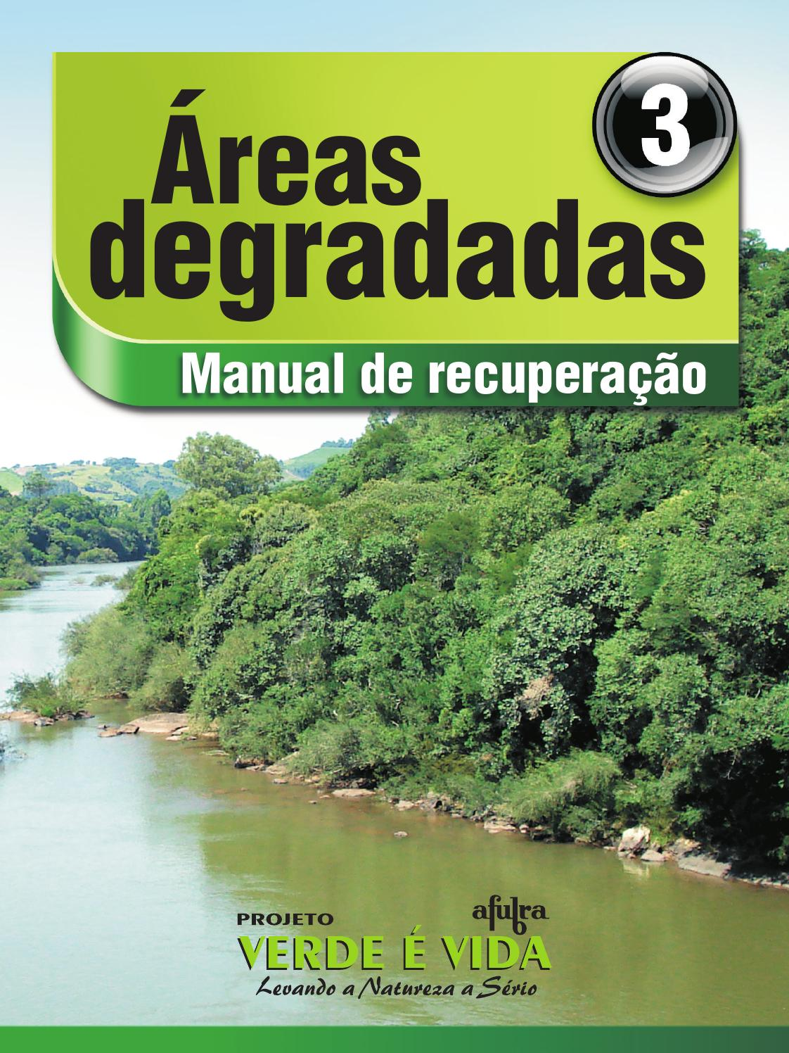 Reas degradadas manual de recupera o by afubra scs issuu for Manual de acuicultura pdf