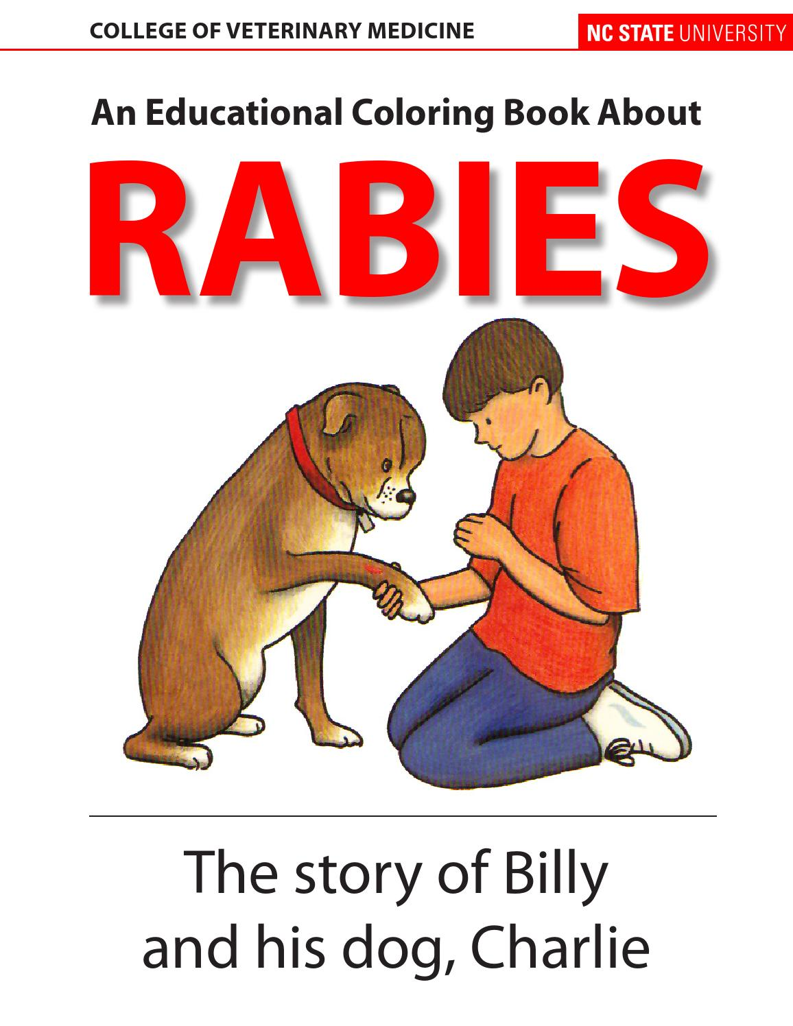 rabies coloring book 2010 english by dr maria correa issuu