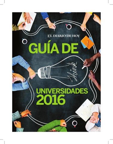 Guía de Universidades by Grupo Editorial Altamirano - issuu